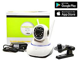 Поворотна Wi-Fi IP-камера відеоспостереження,нічна зйомка,відеоняня
