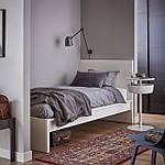 IKEA MALM Кровать высокая, белый, Лонсет  (290.195.94), фото 2