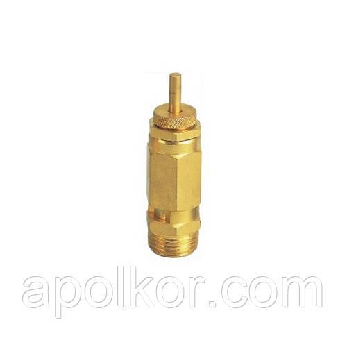 """Клапан предохранительный латунный 1/2"""" AIRKRAFT SP010-04"""