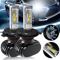 Автомобільні Лід лампи S1 H4 (4000Lm 6500K)