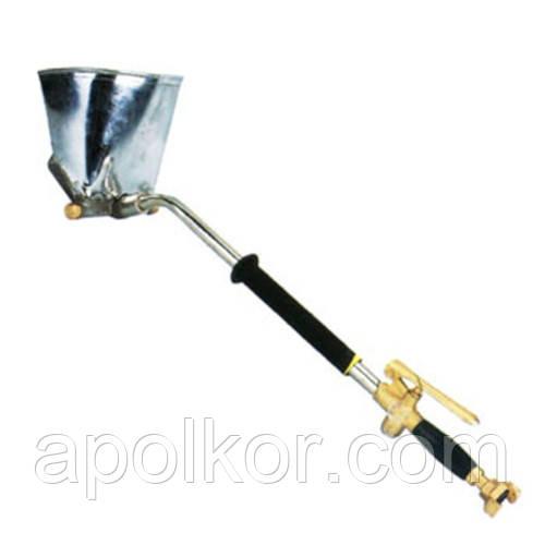 Распылитель пневматический для нанесения штукатурки на стену и потолок металлический ковш AIRKRAFT SN-02