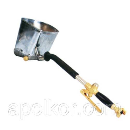Розпилювач пневматичний для нанесення штукатурки на стіну металевий ківш AIRKRAFT SN-01