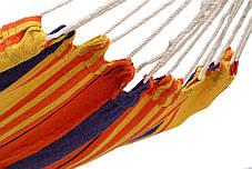 Гамак с каркасом WCG Оранжевый  XL 200x100 см, фото 3