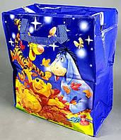 b52fdda5f Сумка детская баул для мальчика синий большой winnie the pooh винни пух №2