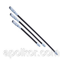 "Гнучкий шланг з наконечником до шприц-маслянці 18"" (L460mm) G. I. KRAFT K-401-18"