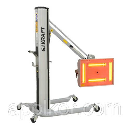 Инфракрасная коротковолновая сушка (4х1000W, 40°C-100°C, 0-99мин, ж/к дисплей, датчик расстояния и t°) G.I. KRAFT GI15115