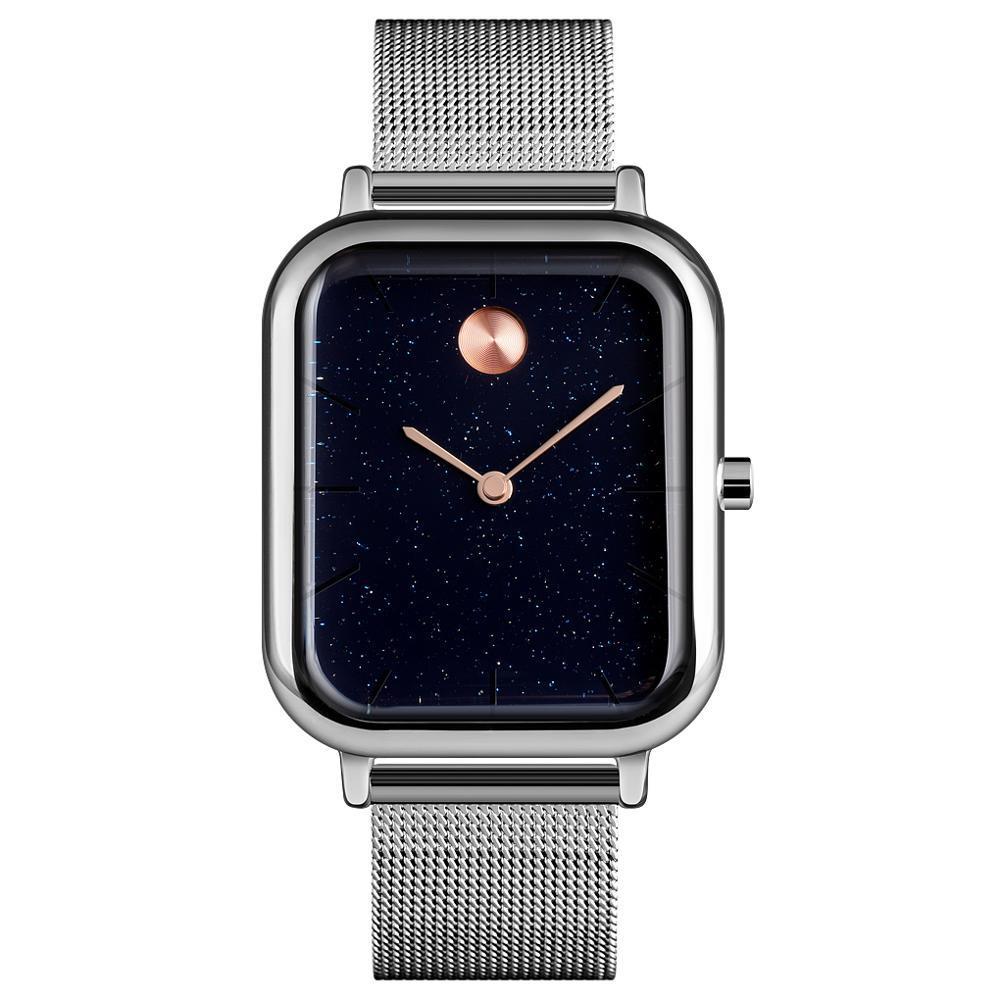Skmei 9187 special ІІ серебристые женские  часы