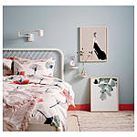 IKEA NESTTUN Кровать, белый, Лурой  (191.580.19), фото 3