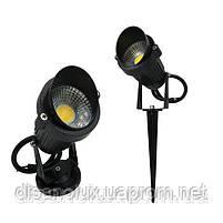 Светильник ландшафтный OL-03  Spike в грунт COB LED 5W/ 4100К  230V IP65, фото 2
