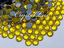 "Термо-стразы ss20 Citrine, 100шт, (5.0мм) ""Crystal Premium"""