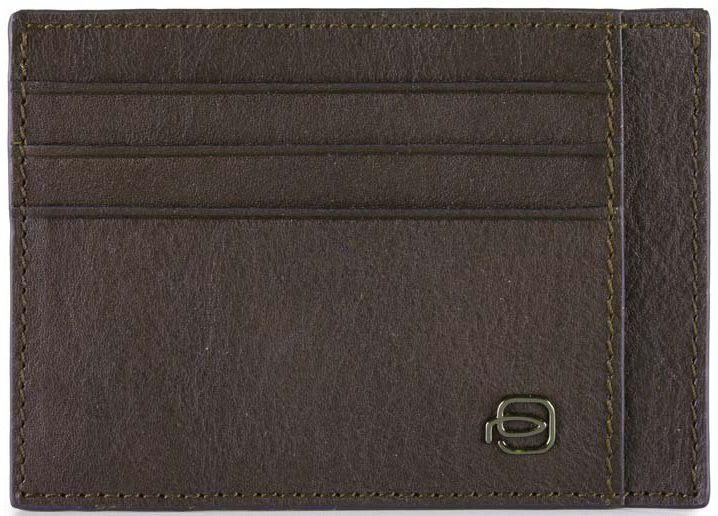 Кожаная кредитница Piquadro BK SQUARE PP2762B3R_TM, коричневый
