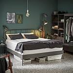 IKEA KOPARDAL Кровать, серый  (691.576.73), фото 2