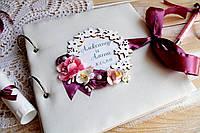 Свадебная Книга Пожеланий + фотоальбом (фото polaroid)
