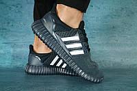 Кроссовки 9322 -3 (Adidas) (весна/осень, мужские, текстиль, синий)