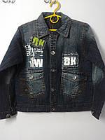 Курточка джинсовая на 10-12 14лет.