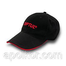 Бейсболка TOPTUL Black + Red  TOPTUL XG000089