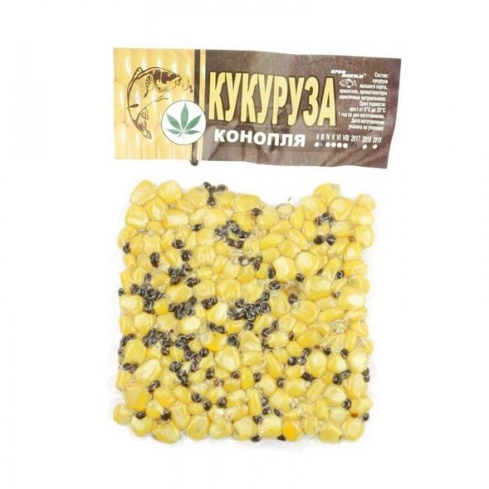 """Кукуруза в вакумной упаковке """"Конопля"""" (100г.)"""