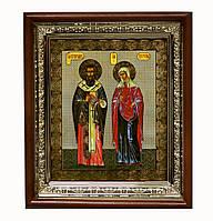 Киприан и Иустинья (молятся от колдовства и черной магии) икона святых