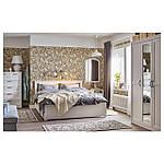 IKEA SONGESAND Кровать с 4 ящиками, белый, Леирсунд  (092.413.35), фото 2
