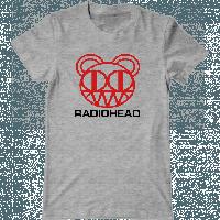 Футболка с печатью принта Radiohead, фото 1