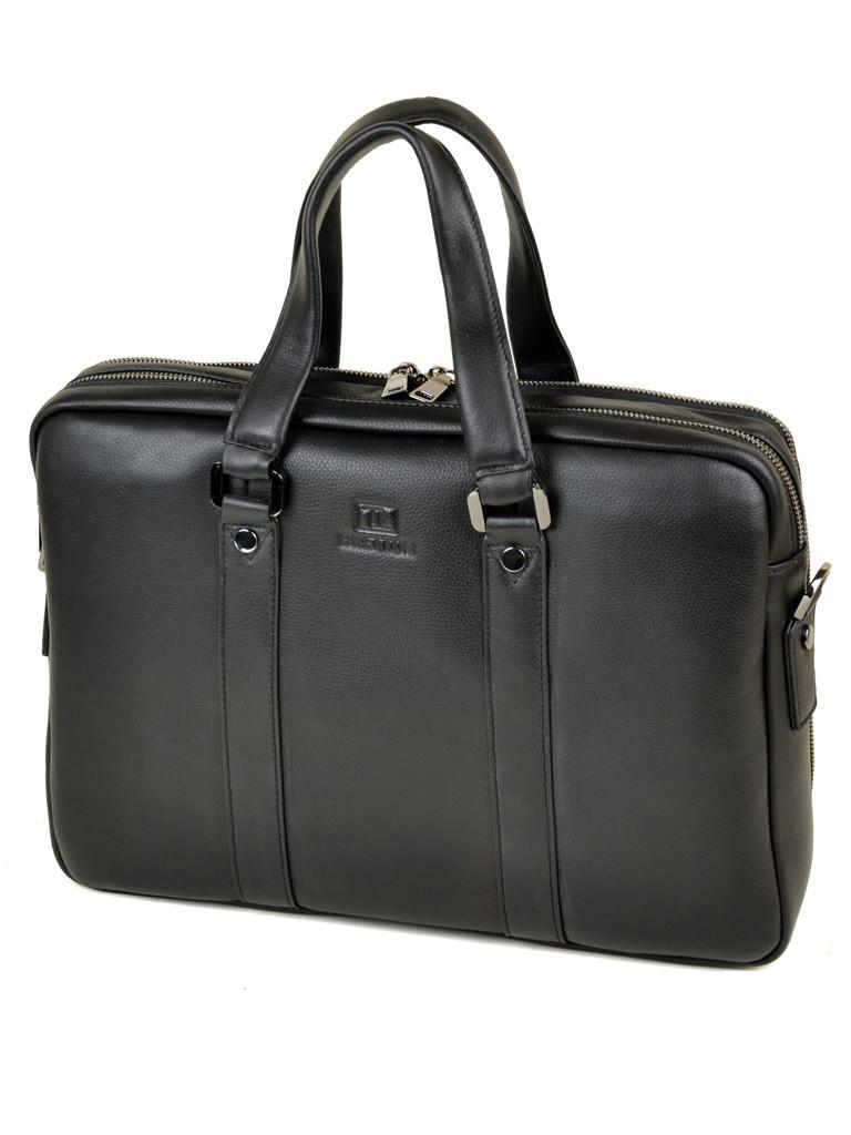 b97064bbff29 PODIUM Сумка Мужская Портфель кожаный BRETTON BE 9318-2 black -  Интернет-магазин