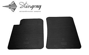 SsangYong Rexton W 2013- Комплект из 2-х ковриков Черный в салон