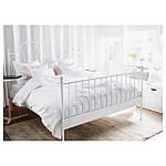 IKEA LEIRVIK Кровать, белый  (192.772.63), фото 3