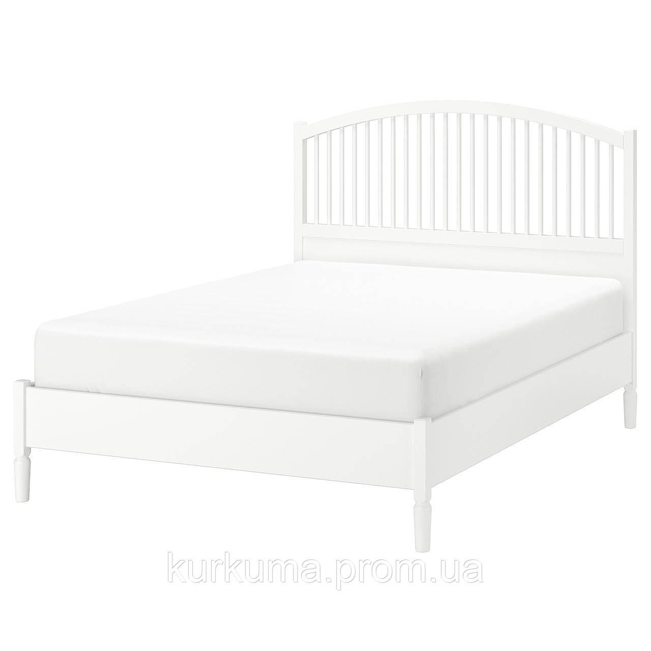 IKEA TYSSEDAL Кровать, белый, Лурой  (390.579.72)