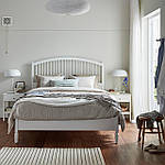 IKEA TYSSEDAL Кровать, белый, Лурой  (390.579.72), фото 2