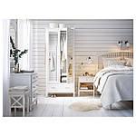 IKEA TYSSEDAL Кровать, белый, Лурой  (390.579.72), фото 4