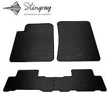 SsangYong Rexton W 2013- Комплект из 4-х ковриков Черный в салон