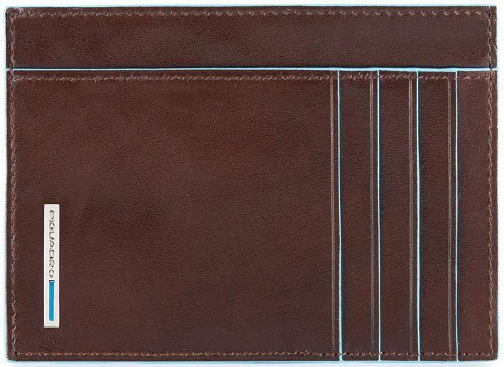 Кредитница кожаная Piquadro BL SQUARE PP3892B2_MO, коричневый
