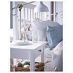 IKEA HEMNES Кровать, белая Морилка, Леирсунд  (290.197.92), фото 3