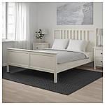 IKEA HEMNES Кровать, белая Морилка, Леирсунд  (290.197.92), фото 4
