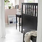 IKEA HEMNES Кровать, черно-коричневый, Лурой  (890.022.70), фото 3