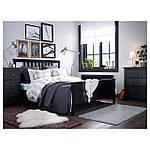 IKEA HEMNES Кровать, черно-коричневый, Лурой  (890.022.70), фото 5