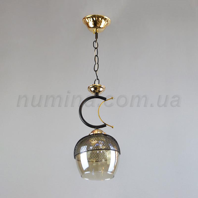 Люстра подвесная на одну лампу GH-75541/1BK+FGD