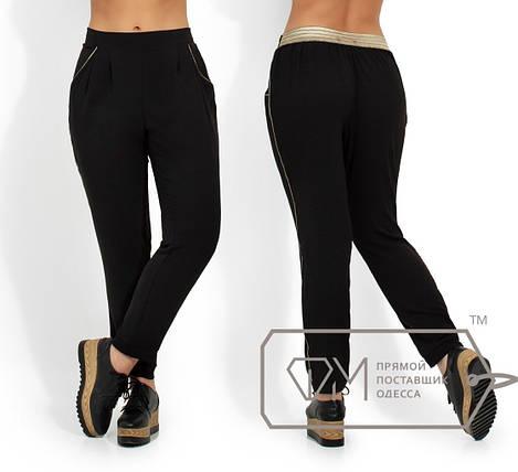 Легкие летние брюки, золотой, фото 2