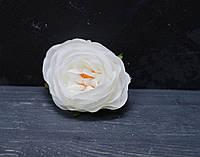 Головка розы Д.Остина мал воздушная белая