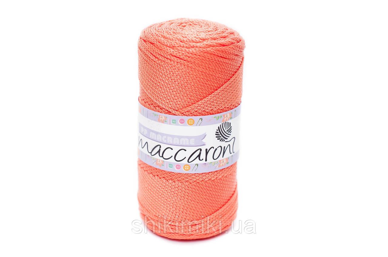 Трикотажный полипропиленовый шнур PP Macrame, цвет Оранжевый