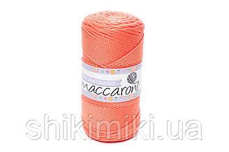 Трикотажный полиэфирный шнур PP Macrame, цвет Оранжевый