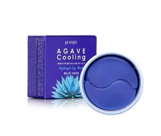 Petitfee Agave Cooling Hydrogel Eye Mask Охлаждающие гидрогелевые патчи с экстрактом агавы