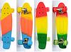 Детский скейт «Радуга» Profi  MS 0750-2, 8 видов , фото 2