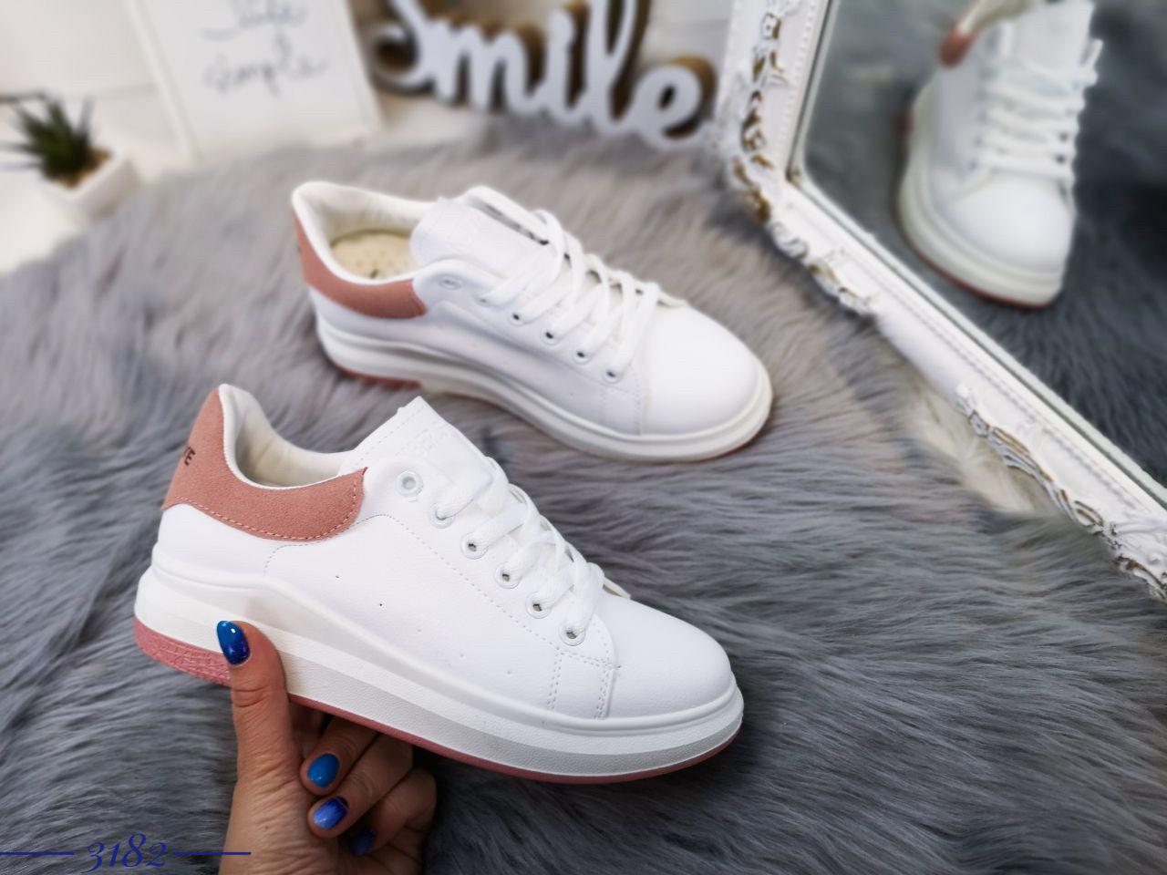 99be0ad0 Женские белые кроссовки весна лето 2019. Модные женские кроссовки эко кожа