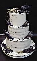 Свадебный торт Лаванда