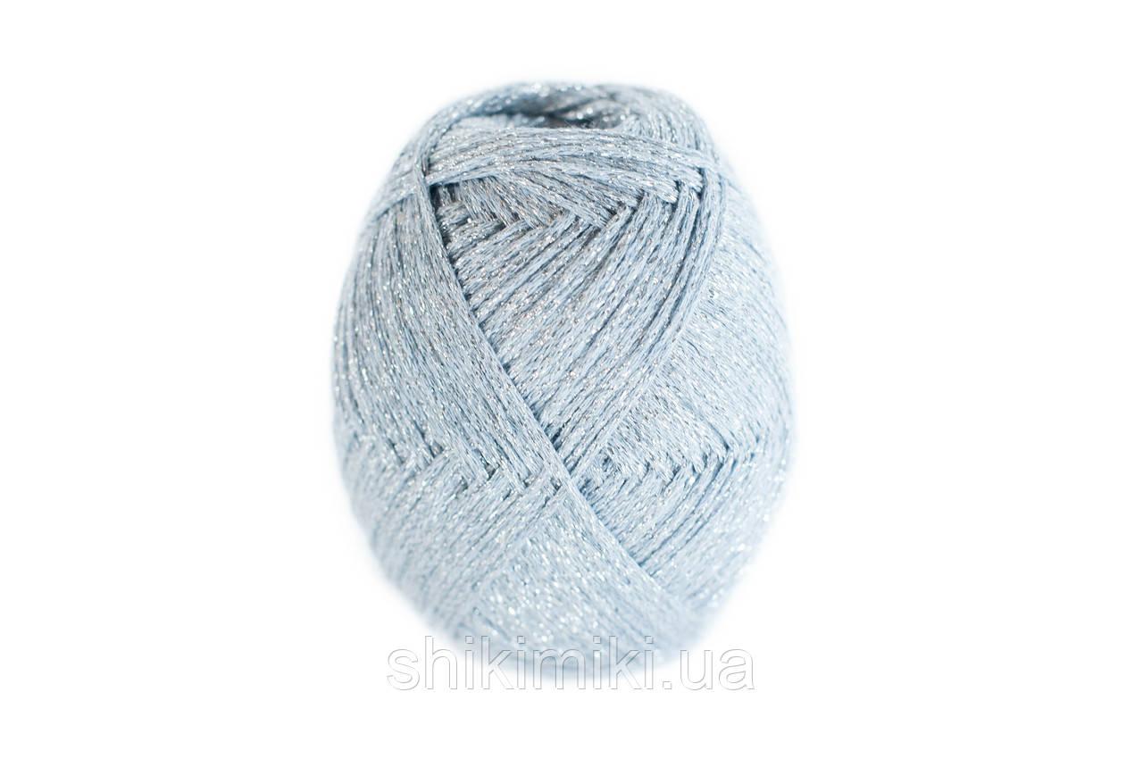 Трикотажный шнур с люрексом Knit & Shine, цвет Иней