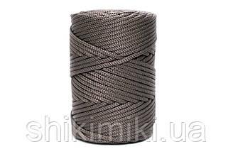 Трикотажный полипропиленовый шнур PP Cord 5 mm, цвет Тауп