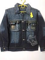 Курточка джинсовая на 10-14лет.