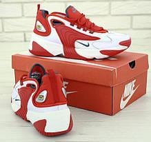 Мужские кроссовки Nike Zoom 2k White/Red (41, 42, 43, 44, 45 размеры), фото 3