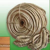 Канат льняной (в бухтах по 3-4 кг)